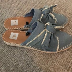 DV by Dolce Vita Shoes - Denim slides